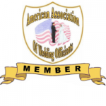 BADGE _ American Assoc. of Wedding Officiants Member