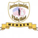 BADGE _ American Assoc. of Wedding Officiants Member