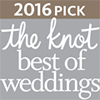 Badge _ 2016 Best of Weddings by The Knot