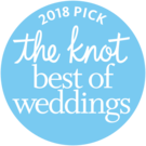 Badge _ 2018 Best of Weddings from The Knot
