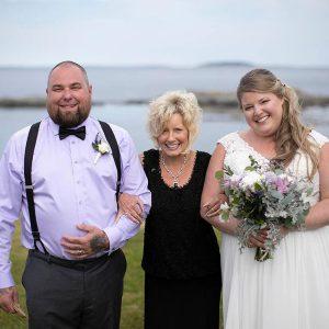 Connie with Sarah & Jason _ 6-10-19 Bailey Island